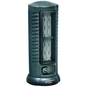 Comfort Zone� Citadel Ceramic Tower Fan Heater