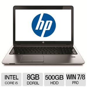 "HP ProBook 15.6"" Notebook - G4S96UT#ABA"