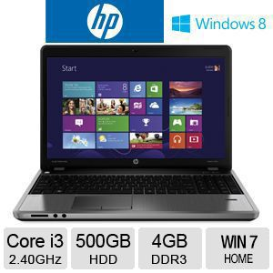 HP Core i3, 4GB DDR3, Windows 7 Home Laptop