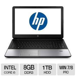 "HP ProBook 350 G1 Core i5, 8GB DDR3, 1TB HDD, 15.6"" Laptop"