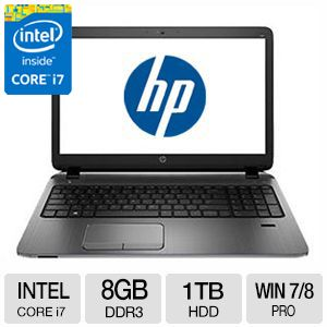 "HP Core i7, 8GB DDR3, 1TB HDD, 15.6"" Laptop"
