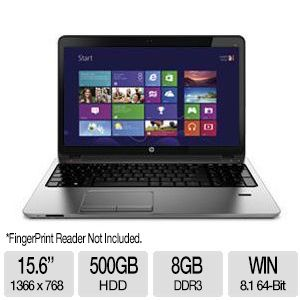"HP ProBook 450 Core i5, 8GB DDR3, 500GB HDD, 15.6"" Laptop"