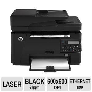 HP LaserJet Pro M127FN Mono Multifunction Printer