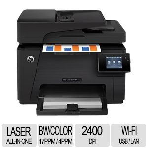 HP LaserJet Pro M177fw Wi-Fi All-in-one Printer