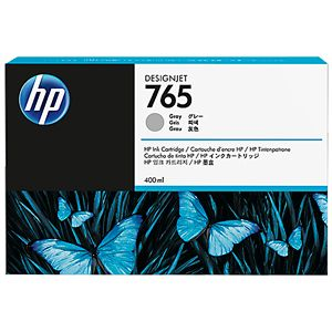 HP 765 - gray - original - ink cartridge