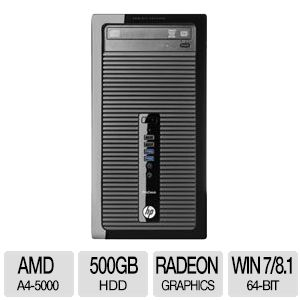 HP ProDesk Quad-Core, 4GB DDR3, 500GB HDD Desktop PC
