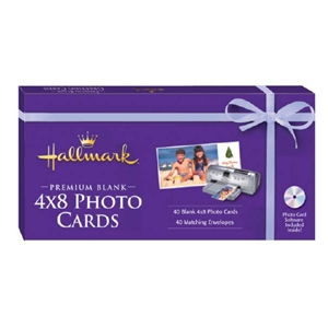 Hallmark Premium Blank Photo Cards