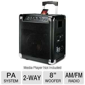 Ion Block Rocker Portable PA System