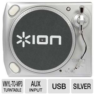 ION TTUSB DC Vinyl-to-MP3 Turntable
