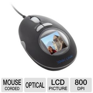 Interlink VP6154 Optical LCD Picture Mouse