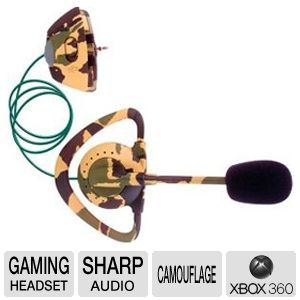 Intec G8607 Xbox 360 Camo Headset