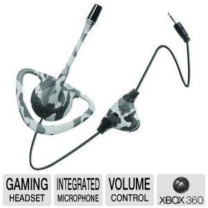 Intec G8608 Xbox 360/Xbox Urban Camo Headset