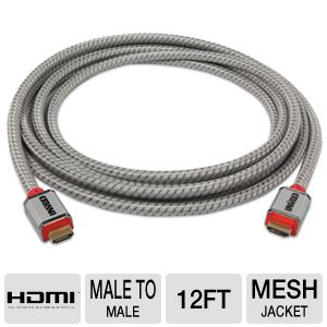 Inveo 12FT High-Speed HDMI w/Ethernet A/V Cable