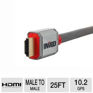 Inveo 25FT High-Speed HDMI w/Ethernet A/V Cable
