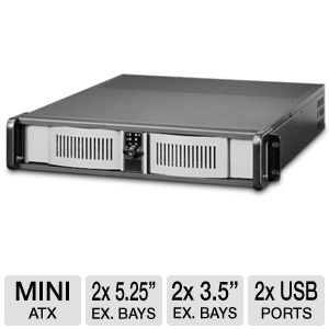 iStarUSA D-200 2U Rackmounted Server Case