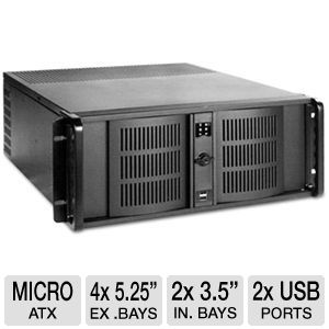iStarUSA 4U Compact Stylish Rackmount Chassis