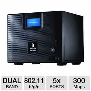 Iomega StorCenter ix4-200d Cloud Edition NAS 