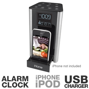 iHome iP39SZC Kitchen Timer and Speaker System