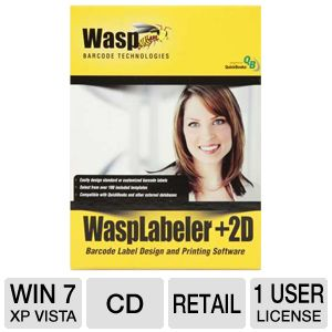 Wasp WaspLabeler +2D Barcode Label Design Software