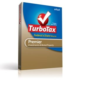  TurboTax Premier Tax Year 2010 Software 