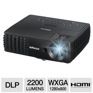 Infocus IN1112 WXGA Portable 3D DLP Projector 