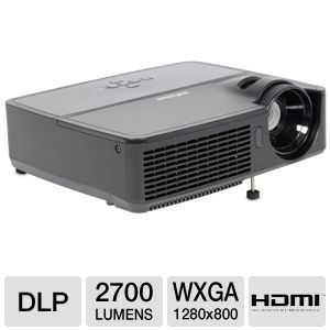 Infocus IN116 WXGA Wide 720p Projector 3D Ready