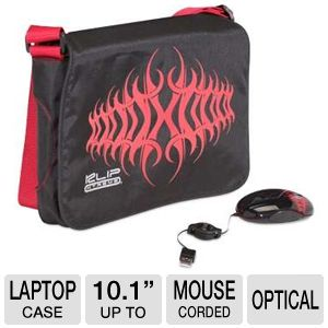 Klip Xtreme KBU-3501R Netbook Case and Mouse 