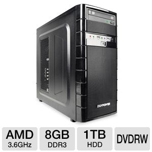 iBUYPOWER TG511 FX-4100, 8GB, 1TB HDD Gaming PC