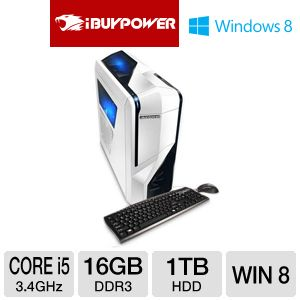iBUYPOWER EXTREME Core i5 1TB HDD Gaming PC