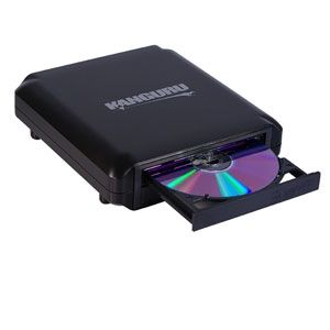 Kanguru QS2 24x External Optical Drive - Black