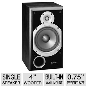 Infinity P143BK Primus Bookshelf Speaker (Single)