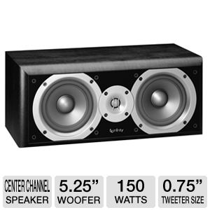 Infinity PC251BK Primus Center-Channel Speaker