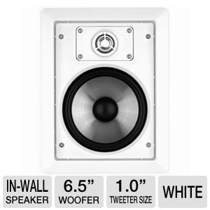 Infinity CS60 Rectangular In-Wall Speaker - White