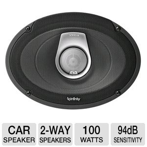 Infinity REF9632CF 2-Way Car Loudspeakers