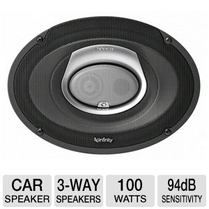 Infinity REF9633CF 3-Way Car Loudspeakers