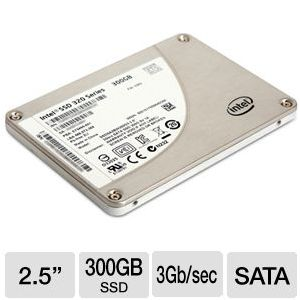 "Intel 320 Series 2.5"" 300GB SATA 3G SSD REFURB"