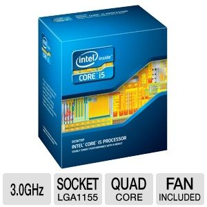 Intel Core i5-2320 3.0 GHz Quad Core Processor