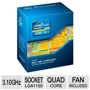 Intel Core i5-3450 3.10 GHz Quad Core Processor