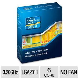 Intel Core i7-3930K 3.20 GHz Six-Core Unlocked CPU