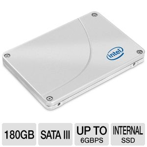 Intel 520 Series 180GB SATA III Solid State Drive