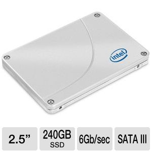 Intel 520 Series 240GB SATA III Solid State REFURB