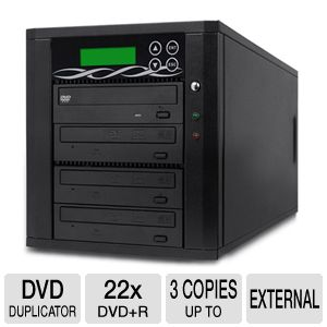ILY 1:3 Spartan Edge CD/DVD Duplicator
