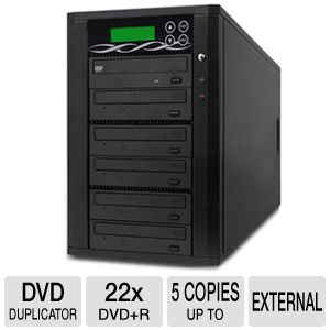 ILY D05-SSP Spartan Edge 1:5 CD/DVD Duplicator