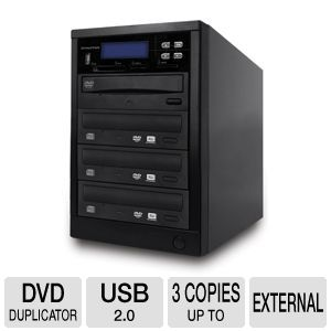 ILY 1-to-3 Spartan All-In-One Duplicator