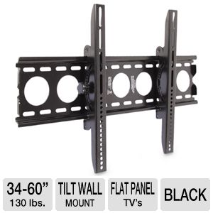 "Interion Large Tilt Wall Mount for 34-60"" TVs"