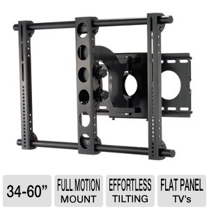 "Interion Large Full Motion Mount for 34-60"" TVs"