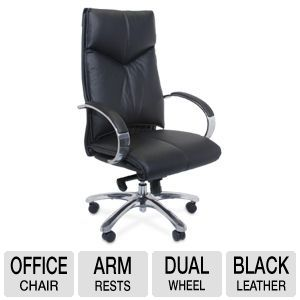 Interion Black Executive Office Chair