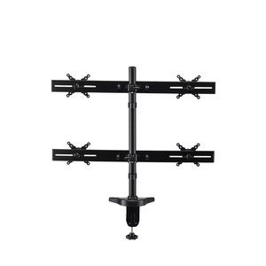 Interion Ontop Quadruple Desktop Monitor Mount
