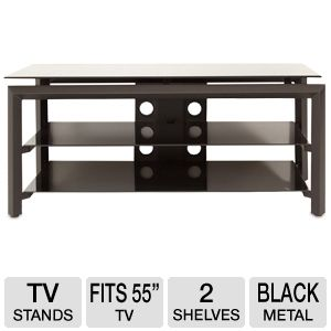 Cravin TDLBH44 44&quot; Metal and Glass TV Stand 