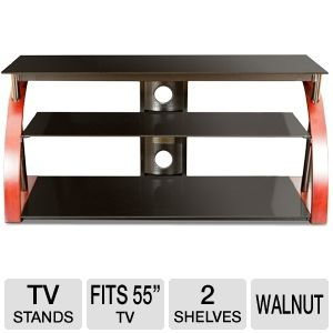 Cravin TDRTNWB48 48in Wood 2 Shelf TV Stand